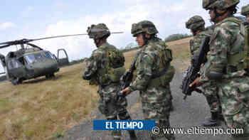 Continúa la búsqueda del soldado desaparecido en Frontino, Antioquia - El Tiempo