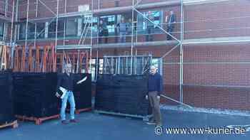 Sanierung Verwaltungsgebäude Hachenburg, Baubeginn mit Fensteraustausch - WW-Kurier - Internetzeitung für den Westerwaldkreis