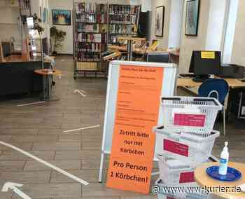 Besucher verhalten sich vorbildlich in der Stadtbücherei Hachenburg - WW-Kurier - Internetzeitung für den Westerwaldkreis