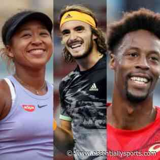 Naomi Osaka and Stefanos Tsitsipas Have Interesting Conversation Involving Gael Monfils - Essentially Sports
