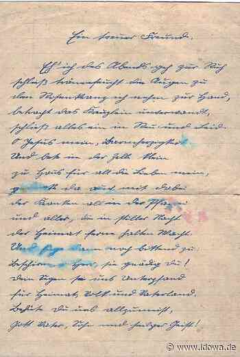 Landau an der Isar: Dokument aus Nazi-Zeit in Landau entdeckt - Dingolfinger Anzeiger