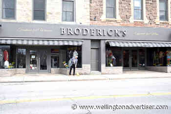 Broderick's Fergus clothier was one of many businesses across Ontario to reopen on May 19 - Wellington Advertiser