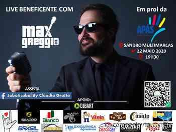 Live com Max Greggio em prol da APÁS de Jaboticabal - Com a Palavra