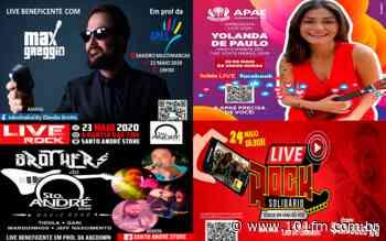 Quatro lives estão programadas para contribuírem com entidades assistenciais de Jaboticabal - Rádio 101FM