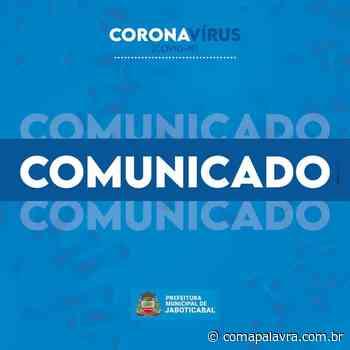 Coronavírus: Mais um caso confirmado em Jaboticabal, totalizando 31 - Com a Palavra