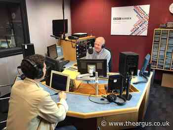 Neil Pringle hosts his last BBC Sussex breakfast show