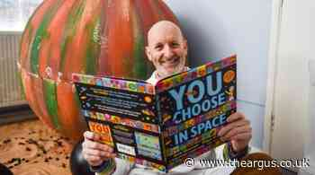 Nick Sharratt gives online drawing workshop with Brighton charity