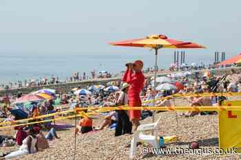 Coronavirus: No lifeguards to patrol Brighton beaches yet