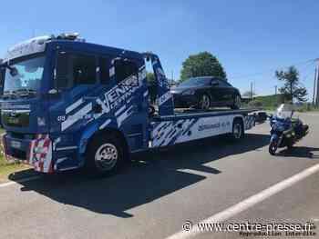 Record pour un excès de vitesse dans la Vienne : 204 km/h pour 80 km/h à Saint-Secondin - Centre Presse