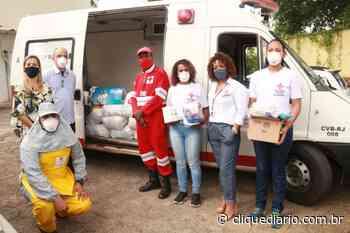 Em Casimiro de Abreu, Cruz Vermelha doa cestas básicas às famílias carentes afetadas pela crise do coronavirus - Clique Diário