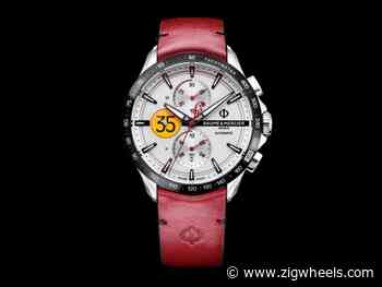 Watch Wednesday: A Watch That Worships One Man's Obsession With Speed - Zigwheels.com