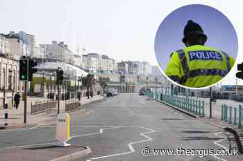 Brighton police officer injured in Madeira Drive attack