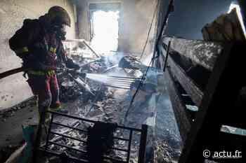 Seine-Saint-Denis. Un appartement ravagé par les flammes à La Courneuve - actu.fr