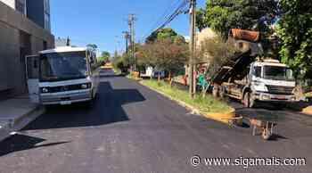 Recapeamento asfáltico com recursos estaduais e municipais contempla diversos bairros de Adamantina - Siga Mais