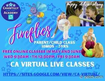Chantilly Academy Gymnastics VIRTUAL Zoom Parent/Child Class - Patch.com