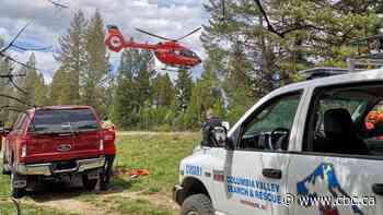 8-year-old flown to Calgary after falling 45 metres near Invermere - CBC.ca