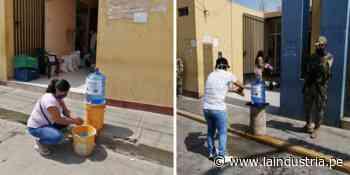 Colocan lavatorios en exteriores de bancos y mercados de Chocope - La Industria.pe