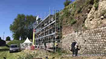 Le chantier de restauration des remparts de Montreuil vient de reprendre - La Voix du Nord