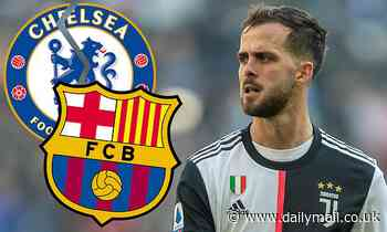 Chelsea set to lose out in race for Miralem Pjanic, with Juventus star saying he will join Barcelona
