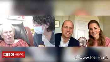 Coronavirus: William and Kate join care home bingo session in video call