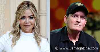 Denise Richards Reveals How She Explained Charlie Sheen's Behavior to Daughters - Us Weekly