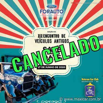 CANCELADO - XIX Encontro de Veículos Antigos em Criciuma, SC • 27/06/2020 - Portal Maxicar de Veículos Antigos