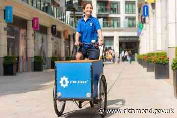 Fourteen eCargo bikes given to local businesses and charities