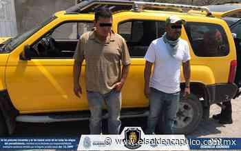Detienen a dos hombres en la carretera federal Huitzuco-Atenango posesión de armas de fuego - El Sol de Acapulco