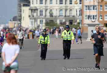 Sussex warns off visitors ahead of bank holiday weekend