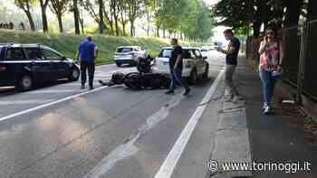 Incidente a Venaria, auto contro motocicletta in via Cavallo - TorinOggi.it
