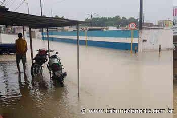 Em Parnamirim, a chuva deste sábado, 16, também causou transtornos - Tribuna do Norte - Natal