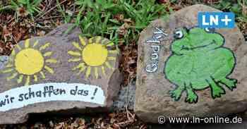 Mutmachen gegen Corona - Viele, viele bunte Steine der Hoffnung – in Ratzeburg - Lübecker Nachrichten