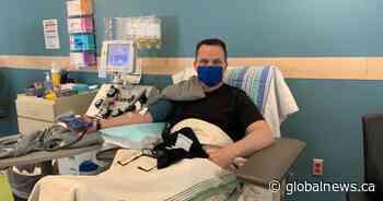 Timberlea man is Nova Scotia's first convalescent plasma donor - Globalnews.ca