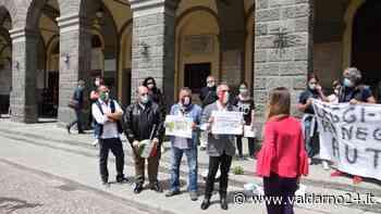 Associazione delle Partite Iva della Toscana in piazza a Montevarchi. Incontro con il Sindaco - Valdarno24