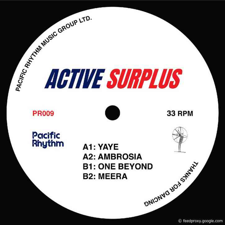 Active Surplus's Self-Titled EP Is the Soundtrack for the Dance Floor and the Comedown