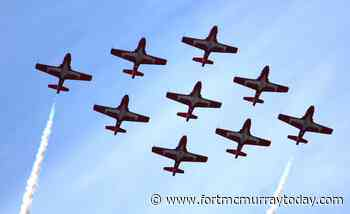 Gallery: Snowbirds fly over Fort McMurray - Fort McMurray Today