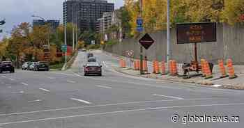 Ville-Marie Expressway partially reopen after years of construction - Globalnews.ca