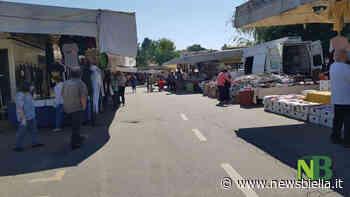 Cossato, riparte il mercato a pieno ritmo: bancarelle all'aperto e obbligo delle mascherine FOTO - newsbiella.it