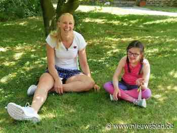 """Ann Wauters daagt Alice (14) uit: """"Corona krijgt Olympische gedachte niet klein"""""""