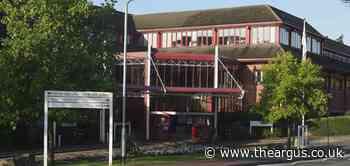 Fire at Princess Royal Hospital in Haywards Heath