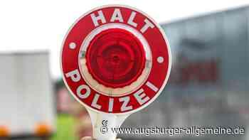 Zivilstreife auf der A8 wird bei Gersthofen ausgebremst - Augsburger Allgemeine