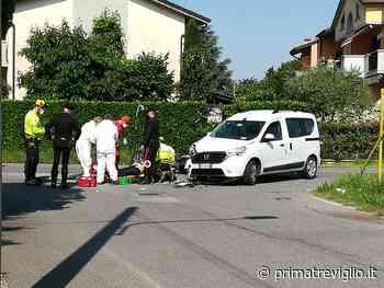 Schianto ad Arcene, grave un motociclista FOTO VIDEO - Giornale di Treviglio
