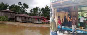 Emergencia por inundación en veredas de Roberto Payán - Diario del Sur