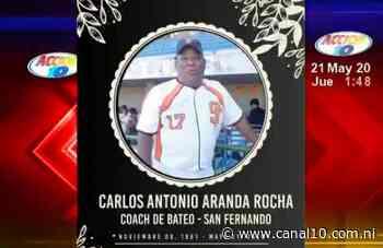 Fallece entrenador deportivo de San Fernando - canal10.com.ni