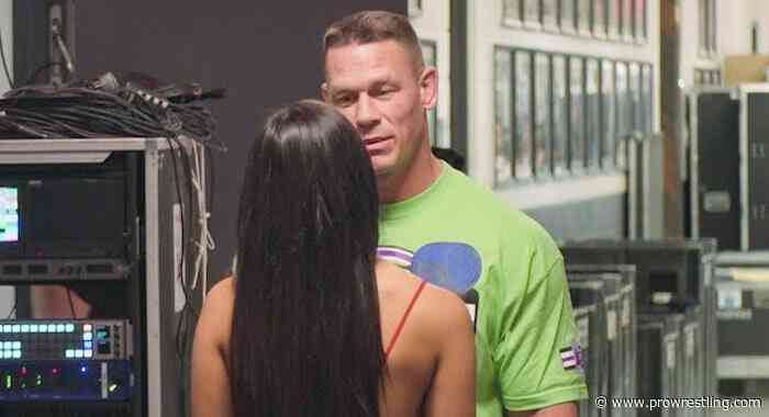 Nikki Bella Reveals A Story Involving John Cena That Was Removed From Her Memoir