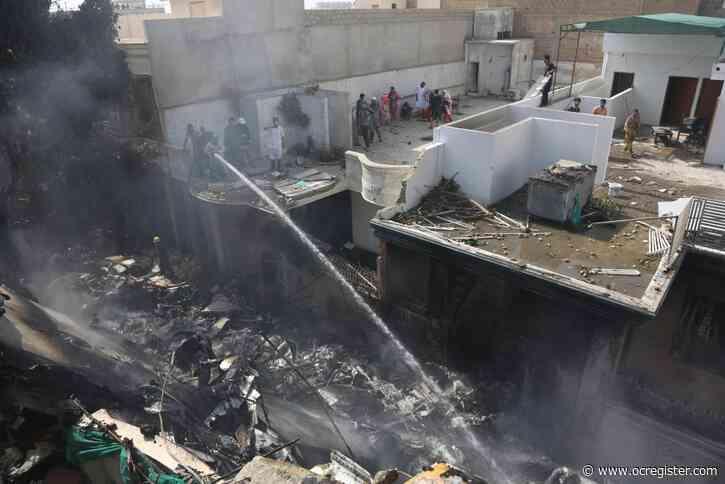 Mayor: Pakistan plane crashes near Karachi, all 107 killed
