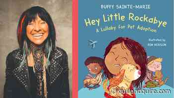 Q&A: First-time children's book author Buffy Sainte-Marie on the joy of pet adoption - Quill & Quire