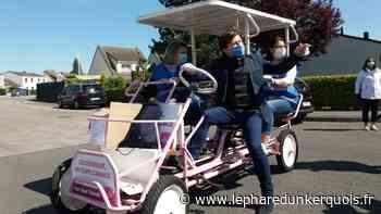 Coudekerque-Branche : le maire distribue des masques en Rosalie - Le Phare dunkerquois