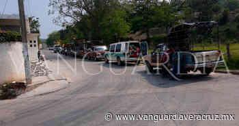 Reubican rampa de transporte mixto rural, en Tantoyuca. - Vanguardia de Veracruz
