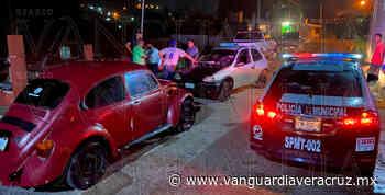 Choque entre Chevy y vocho en Tantoyuca - Vanguardia de Veracruz